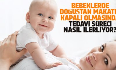 Bebeklerde doğuştan makatın kapalı olmasında tedavi süreci nasıl ilerliyor!