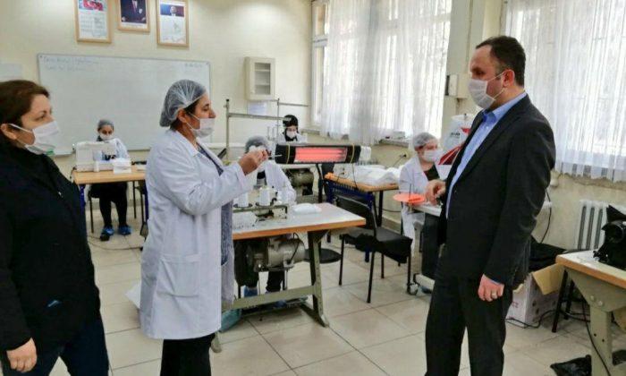 Samsun'da Meslek Liseleri ürettikleri ürünler için toplam 134 marka ve patent başvurusu yaptı