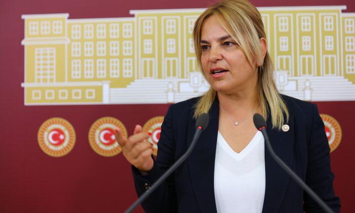 Hancıoğlu Atatürk'süz 100. Yıl logosunu Meclis gündemine taşıdı
