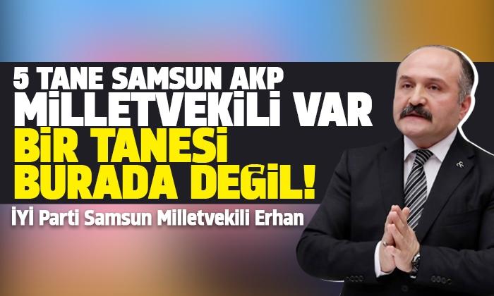 Milletvekili Usta Samsun'un yol sorunlarını dile getirdi