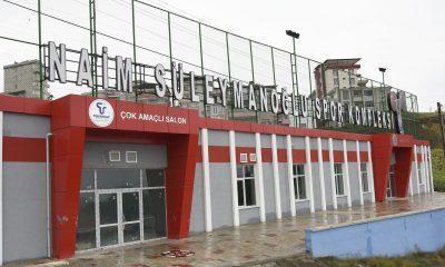 Tekkeköy'de Naim Süleymanoğlu Spor Kompleksi açılışa hazırlanıyor