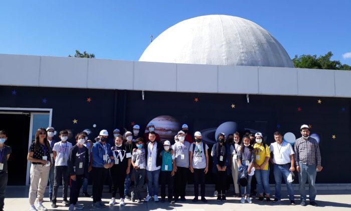 OMÜ Astronomi Eğitimi Uygulama ve Araştırma Merkezine Öğrencilerden Yoğun Talep