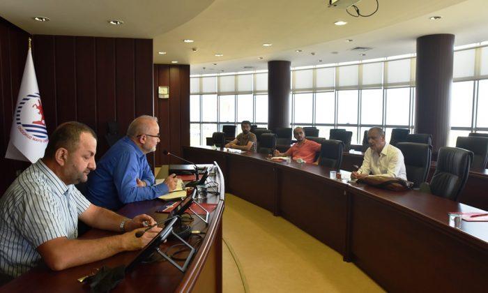 OMÜ Yönetimi, Biyomedikal Sanayisi için İstişare Toplantısı Düzenledi
