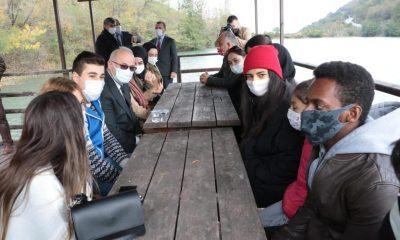 OMÜ Rektörü Prof. Dr. Yavuz Ünal Öğrencilerle Buluştu