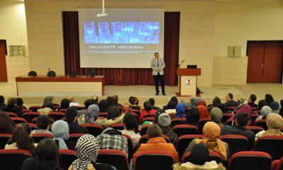 Emre Tilev OMÜ'de Öğrencilerle Buluştu