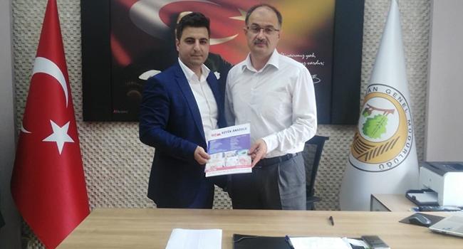 Orman Fidanlık Müdürlüğü ile Büyük Anadolu Hastaneleri arasında kurumsal anlaşma