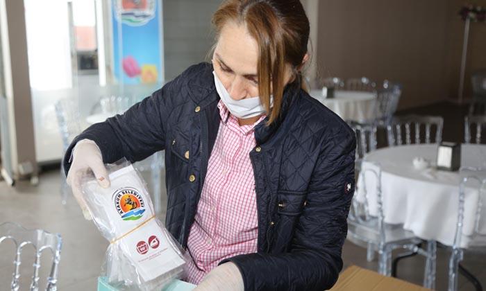Cemil Deveci; Atakum belediyesi'nden hijyen desteği