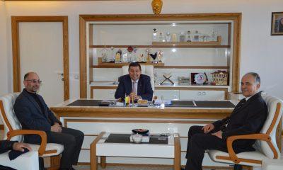Saadet Partisi Havza Belediye Başkan adayı Tunçay Başkan İkiz'e ziyaret