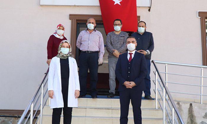 Başkan Kalaycı sağlık çalışanlarını unutmadı yeni yıllarını kutladı