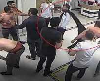 Doktora ve Güvenlik görevlisine yapılan saldırı karşılıksız kalmadı