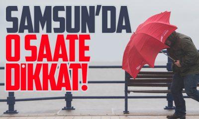 Samsun'a kuvvetli rüzgar uyarısı