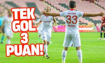Samsunspor Eskişehirspor maç sonucu: 1-0