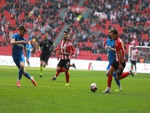 Maç sonucu Samsunspor: 1 Sarıyer: 1