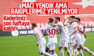 Samsunspor Ankaraspor maç sonucu:3-1