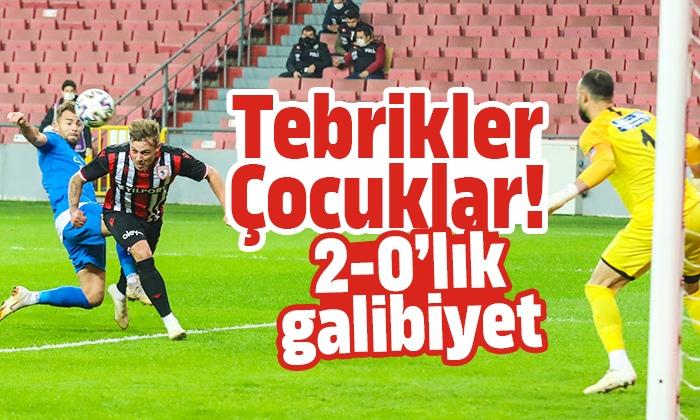 Samsunspor Tuzlaspor maç sonucu: 2-0