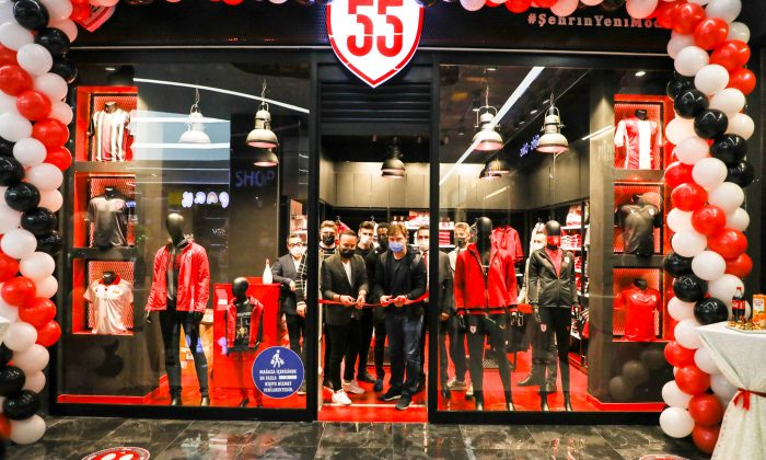 Samsunspor Store 55 Citymall Avm'de açıldı