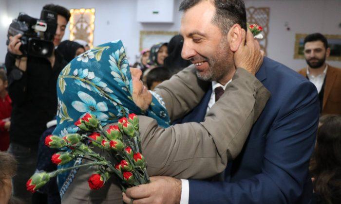 Kavak'ta coşkulu kadınlar kutlaması