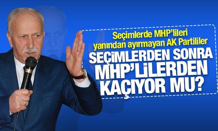 MHP Samsun İl Başkanı Abdullah Karabıçak: AK Partililer davet etmiyor!