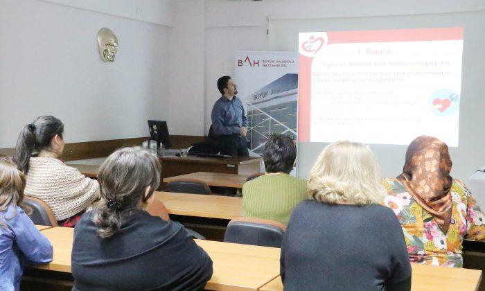 Büyük Anadolu Hastaneleri'nden kalp sağlığı semineri