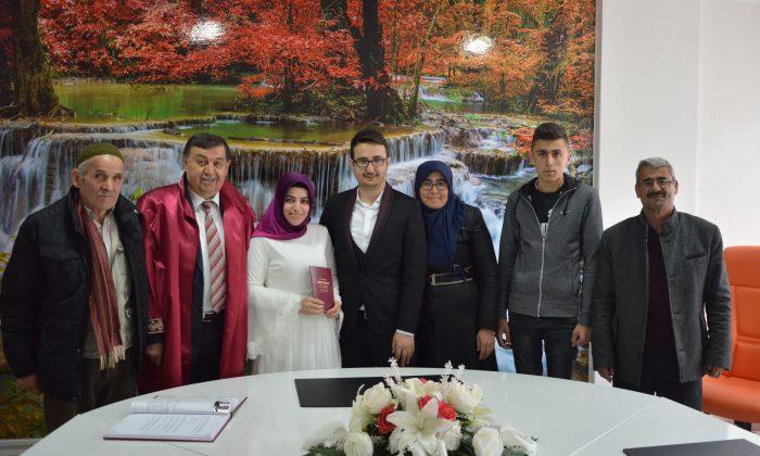 Havza Belediye Başkanı Murat İkiz son nikahını kıydı