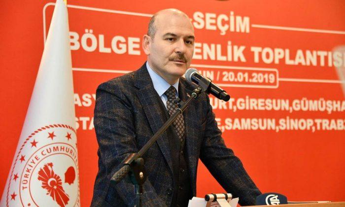 Soylu: Türkiye seçim meselesini dünyada en iyi gerçekleştiren ülkedir