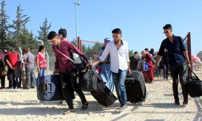 Suriyelilerin bayram için ülkelerine dönüşü başladı