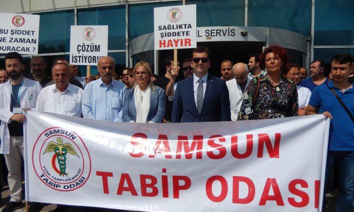 Samsun'da hastanede şiddet olayın Tabip Odası'ndan açıklama