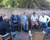 Milletvekili Usta'dan taziye ziyareti