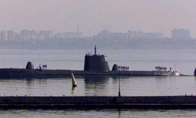 TCG Sakarya S-354 askeri denizaltı Samsun'a geliyor