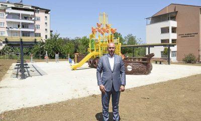 Tekkeköy Belediyesi ilçeyi parklarla donatıyor