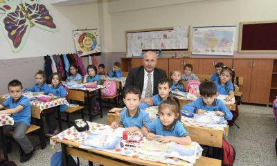 Başkan Togar öğrencilerin heyecanını paylaştı