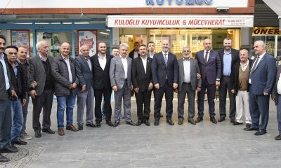 AK Parti İl ve İlçe Teşkilatından vefa ziyaretleri