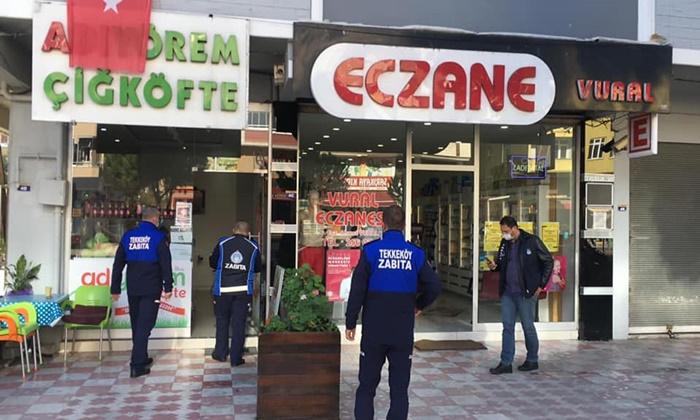 Tekkeköy Belediyesi Sahada Denetimde