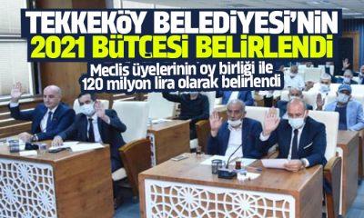 Tekkeköy Belediyesi 2021 bütçesi belirlendi