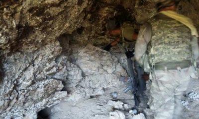 Karadeniz'deki teröristler yeraltına ev kurmuş!