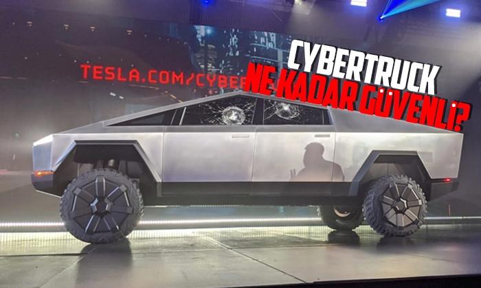 Tesla Cybertruck'ın tasarımı güvenli mi?
