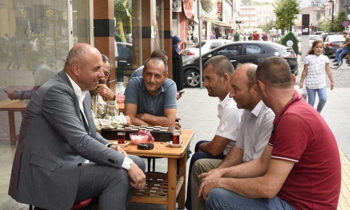 Başkan Togar ziyaretlerine devam ediyor
