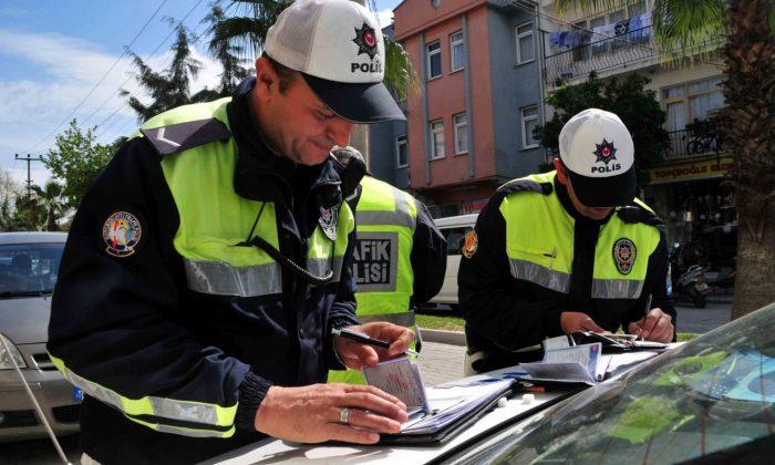 Samsun'da Ekim ayında 705 bin 541 TL trafik cezası uygulandı