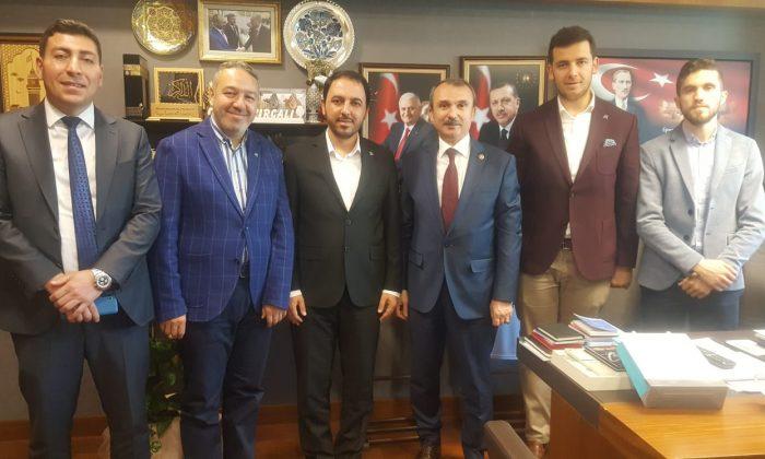 TÜGVA'dan milletvekillerine ziyaret