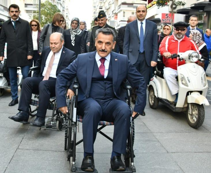 Vali Kaymak'tan Engelliler Haftası mesajı