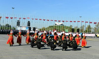 Samsun'da Cumhuriyet Bayramı kutlandı