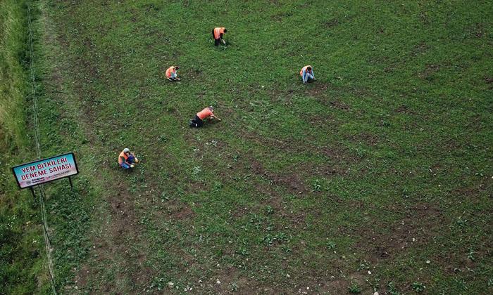 Deveci'nin öncülüğünde atıl araziler tarım okuluna dönüştürüldü