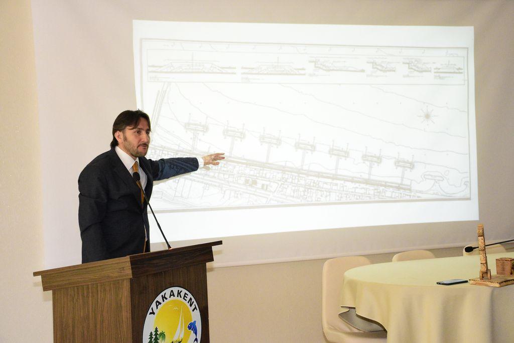 Yakakent'de projeler konuşuldu