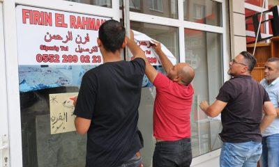 Atakum'da ruhsatsız iş yerleri mühürlendi