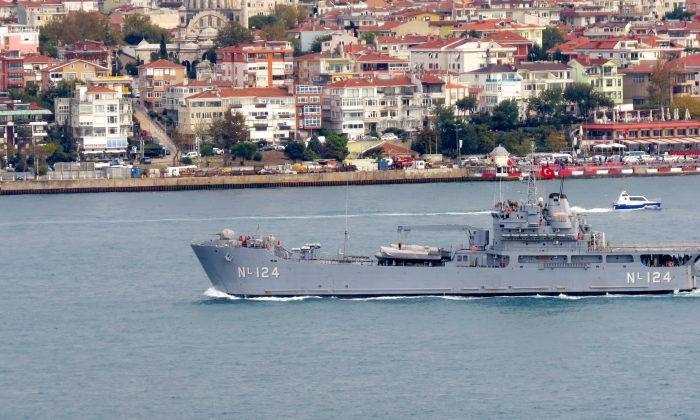 TCG BAYRAKTAR isimli gemi Samsun'a geliyor