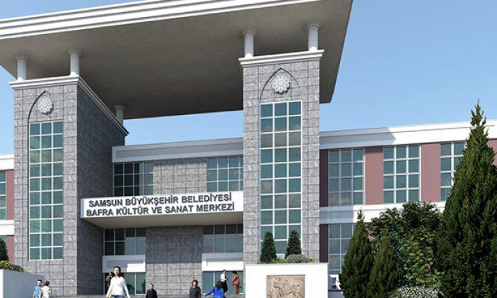 Kültürün ve sanatın merkezi Bafra!