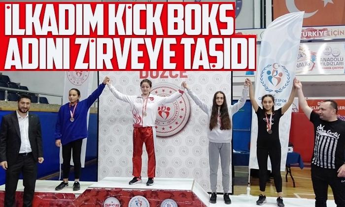 İlkadım Belediyesi Kick Boks takımı kulüpler arası şampiyon oldu