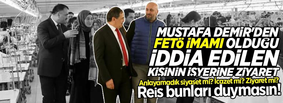 Mustafa Demir ve Halil Akgül'den fetö imamı olduğu iddia edilen kişiye ziyaret