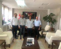Büyük Anadolu'dan Başhekim Sehmen'e nezaket ziyareti